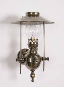 Galley Solid Brass 1 Light Wall Lamp