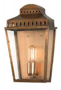 EC4-1 Outdoor Lantern, Antique Brass