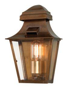 St Pauls Hand Made Outdoor Lantern, Antique Brass