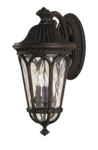 FE/REGENT/L Outdoor 3 Light Die Cast Aluminium Wall Lantern
