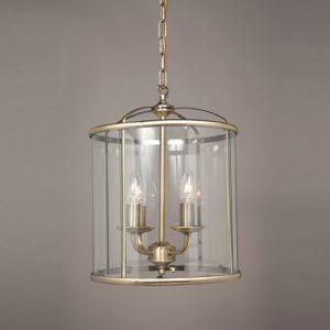 Orly 4 Light Hanging Ceiling Lantern -Antique Brass