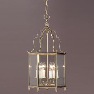 Belgravia 6 Light Solid Brass Georgian Lantern