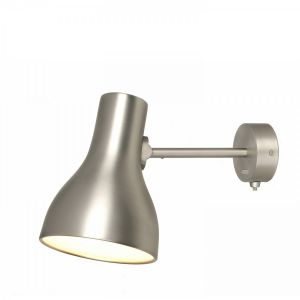 Anglepoise Type 75 Wall Lamp in Brushed Aluminium