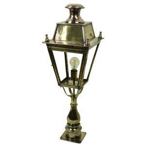 Balmoral Solid Brass Exterior Post Lantern