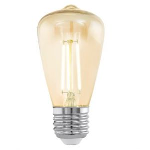 Vision Vintage LED Filament Valve Shape Lamp Small 3.5watt
