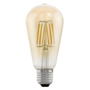 Vision Vintage LED Filament Valve Shape Lamp Large 4 watt