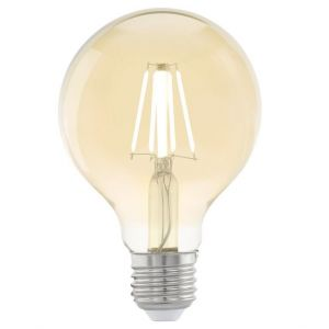 Vision Vintage LED Filament Amber Small Globe Shape Lamp 4 watt