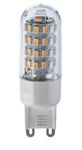Vision High Quality 3 Watt LED G9 Lamp - 300 Lumen Warm White