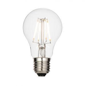 Vision 6.2 Watt ES Clear LED GLS Lamp - Warm white