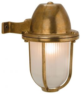 Outdoor Mast Wall Light Solid Brass