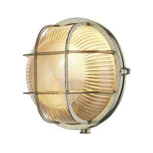 Lymington Brass Outdoor Wall Light IP64