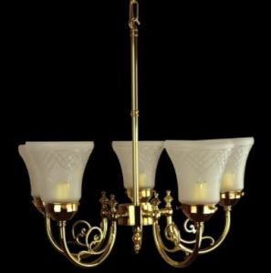 Bayswater Solid Brass 5 Light Pendant