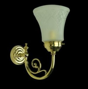 Bayswater Solid Brass 1 Light Wall Light
