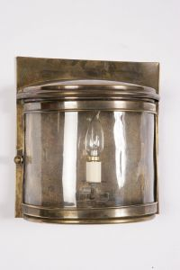 Large Deco Solid Brass 1 Light Passage Lamp