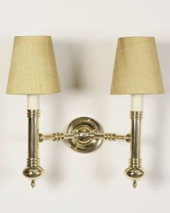 Carlton Solid Brass 2 Light Wall Light