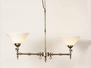 Aldwich Solid Brass 2 Light Pendant
