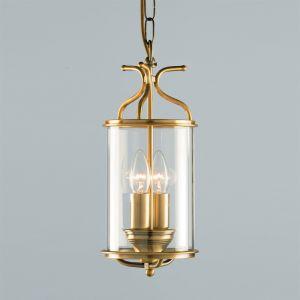 Antique Brass Circular Ceiling Lantern