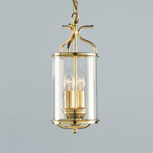 Brass Circular Ceiling Lantern
