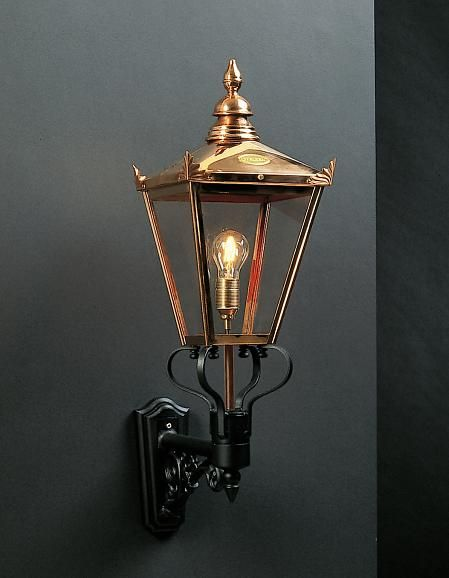 Chelsea Large Copper Outdoor Wall Lantern From Richard Hathaway Lighting